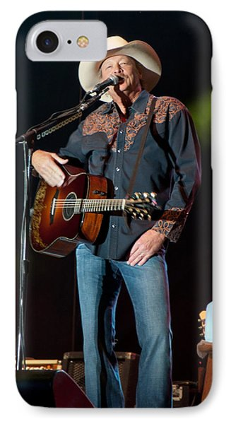 IPhone Case featuring the photograph Alan Jackson - Where I Come From by John Black