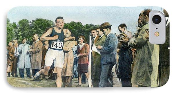 Alan Mathison Turing (1912-1954) IPhone Case by Granger