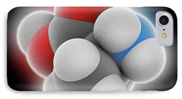 Alanine Molecule IPhone Case by Laguna Design