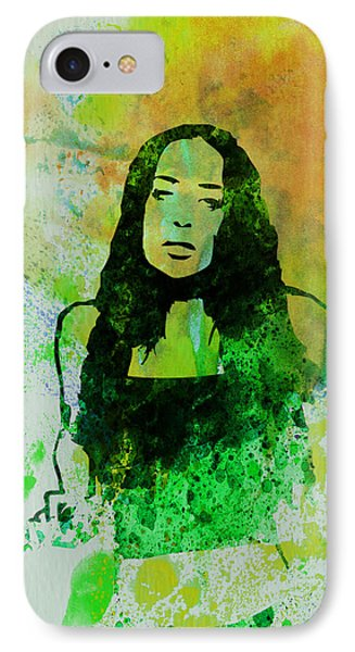 Alanis Morissette Phone Case by Naxart Studio
