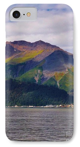 IPhone Case featuring the photograph Alaska In The Summer by Brigitte Emme