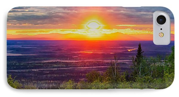 IPhone Case featuring the photograph Alaska Land Of The 11 Pm Sun by Michael Rogers