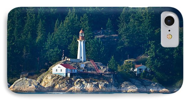 Alaska Lighthouse IPhone Case