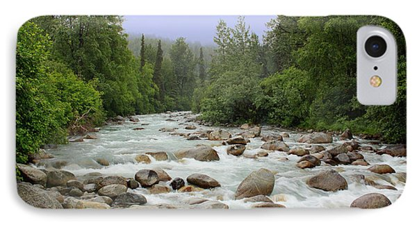 Alaska - Little Susitna River Phone Case by Kim Hojnacki