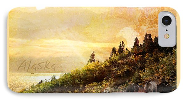 IPhone Case featuring the photograph Alaska Montage by Ann Lauwers