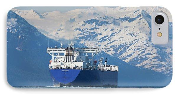 Alaska, Prince William Sound, An Empty IPhone Case by Hugh Rose