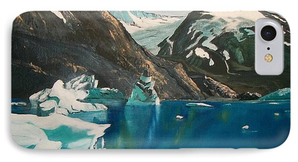 IPhone Case featuring the painting Alaska Reflections by Sharon Duguay