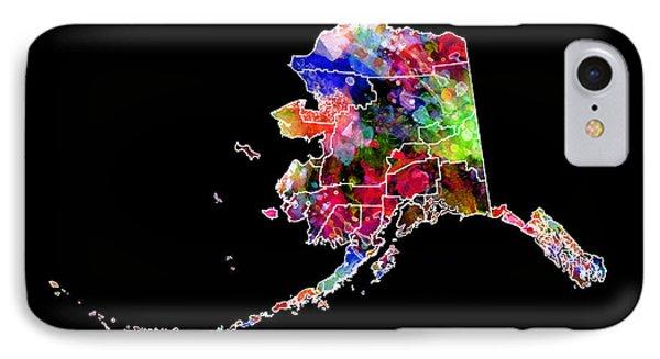 Alaska State 2 Phone Case by Daniel Hagerman