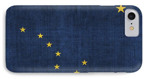 Alaska State Flag Phone Case by Pixel Chimp