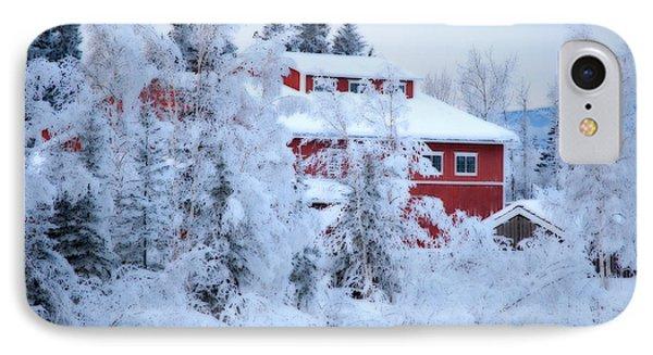 Alaskaland Train Station I IPhone Case