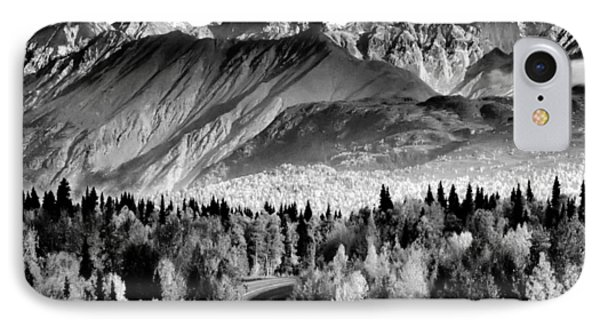 Alaskan Mountains Phone Case by Katie Wing Vigil