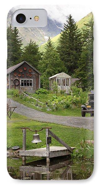 Alaskan Pioneer Mining Camp IPhone Case