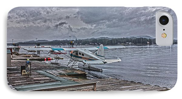 Alaskan Seaplane IPhone Case by Timothy Latta