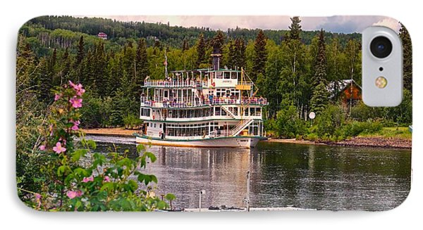 IPhone Case featuring the photograph Alaskan Sternwheeler The Riverboat Discovery by Michael Rogers