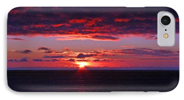Alaskan Sunset Phone Case by Bob Hislop