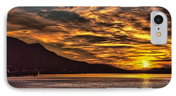 Alaskan Sunset IPhone Case by Timothy Latta