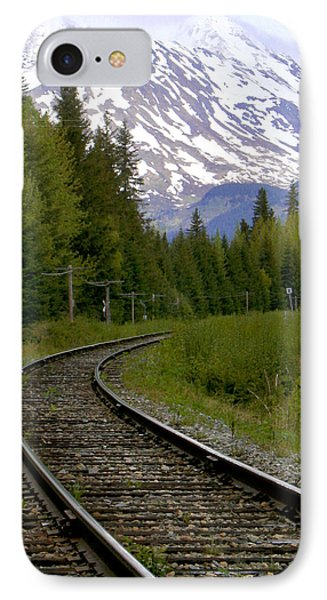 Alaskan Tracks Phone Case by Art Block Collections