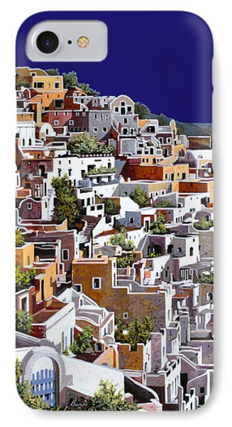 alba a Santorini Phone Case by Guido Borelli