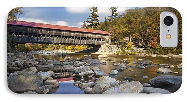 Albany Covered Bridge Phone Case by Eric Gendron