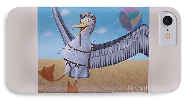 Albatross Landing IPhone Case