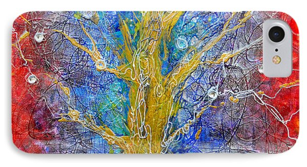 Albedo Tree Of Life 8 Phone Case by Regina Valluzzi