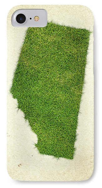 Alberta Grass Map IPhone Case