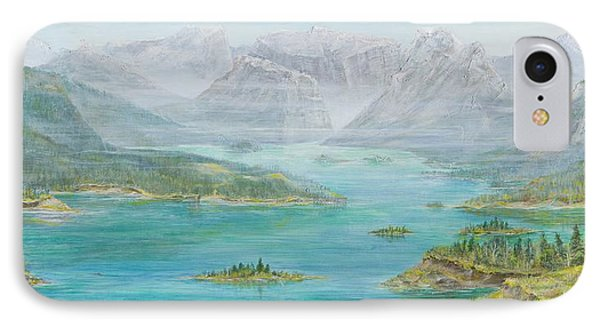 Alberta Rocky Mountains Phone Case by Cathy Long
