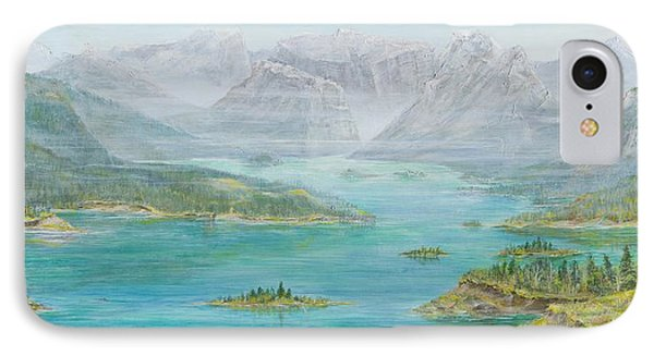 Alberta Rocky Mountains IPhone Case by Cathy Long
