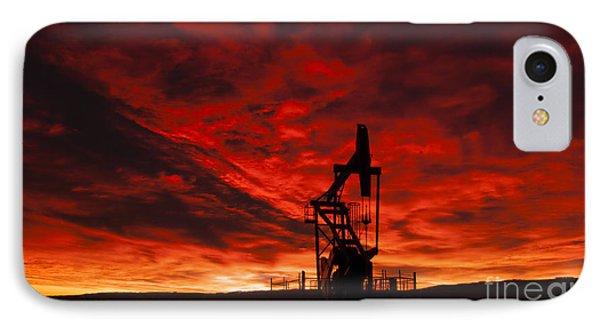 Alberta Sunrise IPhone Case by Vivian Christopher