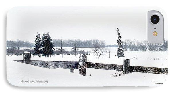 Alberta Winter Wonderland Phone Case by Donna Brown