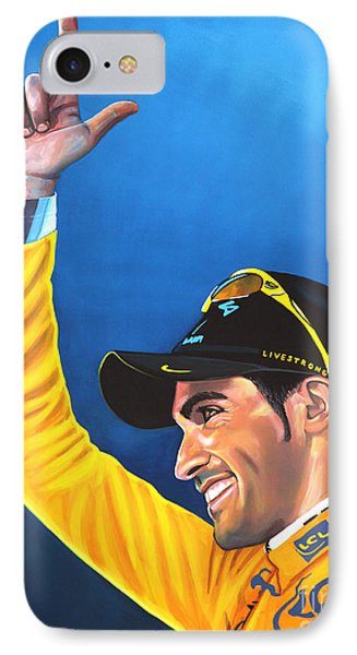 Alberto Contador IPhone Case