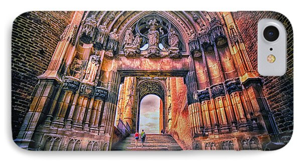 IPhone Case featuring the photograph Albi Cathedral Arch To Heaven II by Jack Torcello