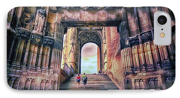 IPhone Case featuring the photograph Albi Cathedral Arch To Heaven by Jack Torcello