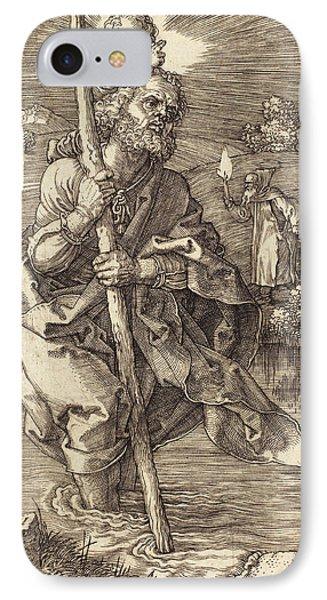 Albrecht Dürer German, 1471 - 1528, Saint Christopher IPhone Case