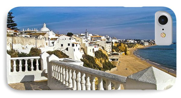 Albufeira Village By The Sea Phone Case by Heiko Koehrer-Wagner
