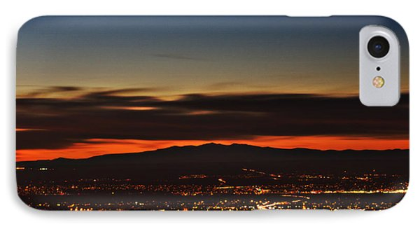Albuquerque Sunset IPhone Case by Marlo Horne