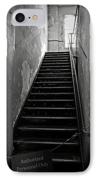 Alcatraz Hospital Stairs Phone Case by RicardMN Photography