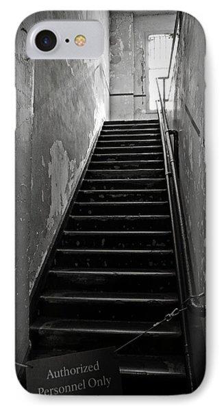 Alcatraz Hospital Stairs IPhone Case by RicardMN Photography