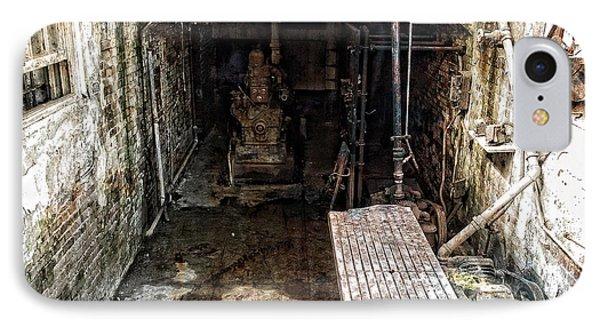 Alcatraz Island Morgue Phone Case by Daniel Hagerman