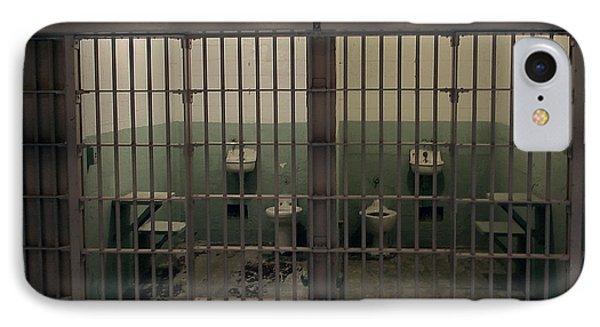 Alcatraz Side-by-side Cells IPhone Case by Daniel Hagerman