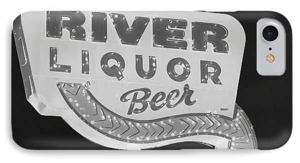 Alcohol Sign IPhone Case by Jerry Bunger