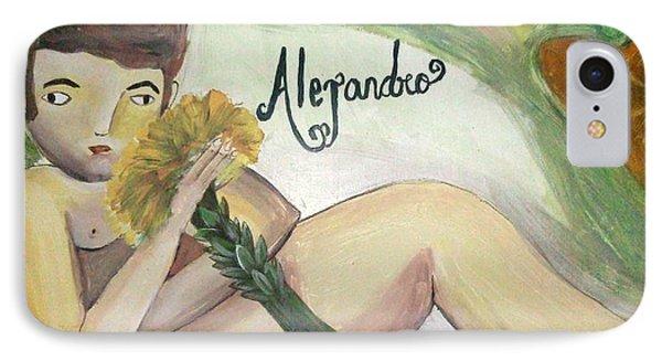 Alejandro Phone Case by Vickie Meza