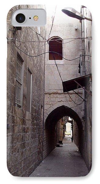 Aleppo Alleyway04 Phone Case by Mamoun Sakkal