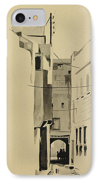 Aleppo Old City Alleyway 2 IPhone Case