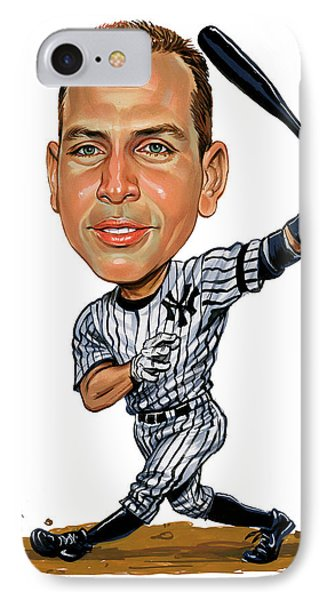 Alex Rodriguez IPhone Case