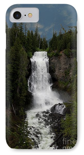 IPhone Case featuring the photograph Alexander Falls by Rod Wiens