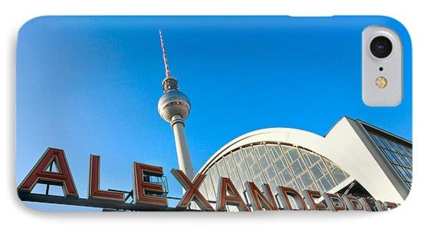 Alexander Platz - Berlin - Germany IPhone Case by Luciano Mortula