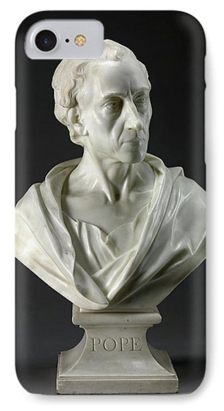 Alexander Pope Inscribed, Chiseled On Front Of Socle Pope IPhone Case by Litz Collection
