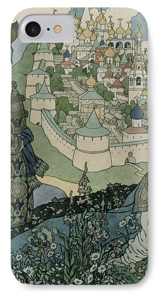 Alexander Pushkin's Fairytale Of The Tsar Saltan IPhone Case