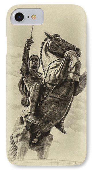 Alexander The Great IPhone Case by Yevgeni Kacnelson